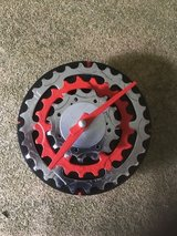 Hand Made Bike Gear Clock in Naperville, Illinois