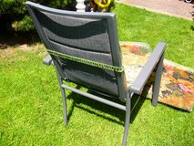 set of 4 cushions for lawn garden patio chairs in Ramstein, Germany