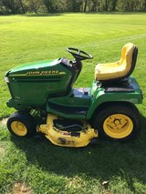 John Deere tractors, carts, decks,wheel weights, etc. in Naperville, Illinois