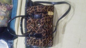 Milly Tiger Print Pony Hair Large Tote Handbag in Livingston, Texas