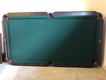 LeGrand Pool table with accessories in Tacoma, Washington