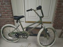 Kid's bike - repainted camouflage in Aurora, Illinois