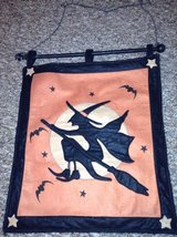 Halloween Witch Banner in Westmont, Illinois