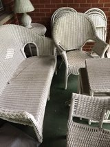 Wicker furniture in Schaumburg, Illinois