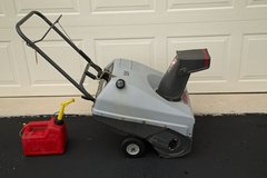 "Craftsman Snow Blower 3 hp 21"" gas engine with electric start in Joliet, Illinois"