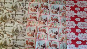 Vintage Christmas Wrapping Paper in Chicago, Illinois