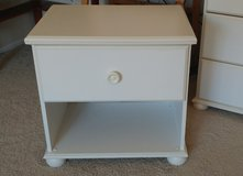 White dresser, nightstand and toy chest in 29 Palms, California