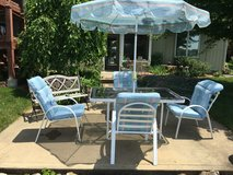 Patio table set in Fort Leavenworth, Kansas