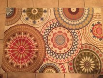 NEW 30x40 Mohawk Rug Circles (red, coppers, blue colors) in Baytown, Texas
