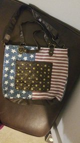 American Flag design w Studs (big purse) in Fort Campbell, Kentucky