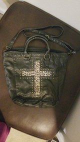 Leopard Cross Pleather Bag in Fort Campbell, Kentucky