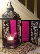 Hanging Hexagon Moroccan Candle Lantern Holder in Westmont, Illinois