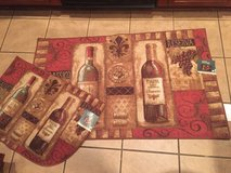 Wine - NEW Rugs, all have slip resistant backing NEW in Baytown, Texas