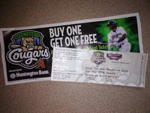 Cougars ticket in St. Charles, Illinois