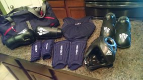 Sparring Gear.... KARATE in Kingwood, Texas