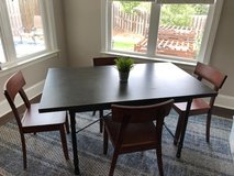 Metal-top dining table - Brand new in Fort Gordon, Georgia