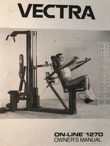 Vectra On-Line 1270 Home Gym in Fort Gordon, Georgia