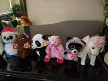 Set of Beanie Babies and Beanie Boos in Melbourne, Florida