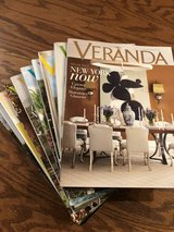 VERANDA ( 10 magazines) in Beaufort, South Carolina