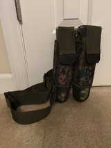 2 paint ball canisters with holster in Camp Lejeune, North Carolina