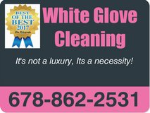White Glove Cleaning in Perry, Georgia