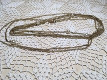 Flapper necklace vintage double stranded with pearls in Houston, Texas