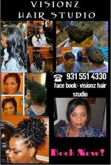 Appointment available this week..visionz hair studio in Fort Campbell, Kentucky