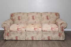 Highland House Sofa Floral Pattern in Spring, Texas