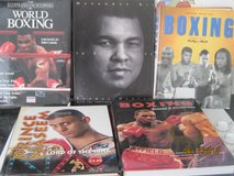 6 Hard-Back Vintage BOXING Reference Picture Books - all in great condition in Lakenheath, UK