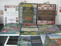 LOT of 8 Gardening Reference Books The Royal Horticultural Society plus others in Lakenheath, UK