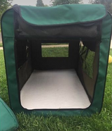Large Canine Camper Portable Tent Travel Cage in Lockport, Illinois