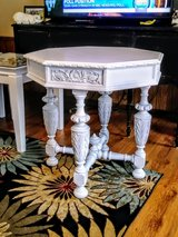 rare signed carved entryway table in Cherry Point, North Carolina