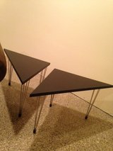 MidCentury Modern end tables in Oswego, Illinois