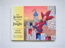 """""""The Jester Has Lost His Jingle"""" Book by David Saltzman -EXC COND-Children's Hardcover in Naperville, Illinois"""