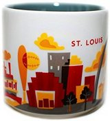 NEW!! Starbucks You Are Here St. Louis Mug 14 Oz. in Clarksville, Tennessee