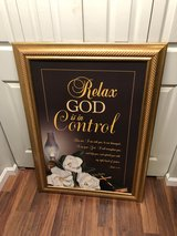 Relax God is in Control 30 X 42 in Fort Knox, Kentucky