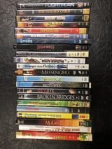 DVDs $2 each or two for $3.00 in Travis AFB, California