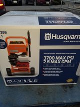New in the box 3700 psi Husqvarna pressure washer in Fort Lewis, Washington