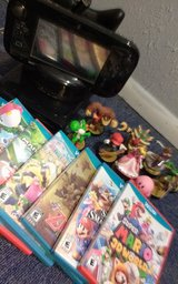 Wii U Collection (Console + Accessories + Games + Amiibos) in Fort Carson, Colorado