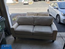 Couch and love seat in Aurora, Illinois