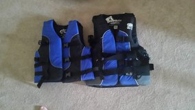 Lifevest PFD, Life Jacket set of 2 - $30 in Chicago, Illinois