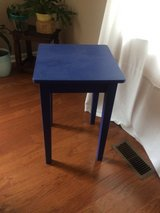Fun Blue Side Table or Night Stand in Fort Bragg, North Carolina