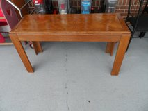 """Sofa table (4' x 18"""" x 26'H) reduced from 65 in Cherry Point, North Carolina"""