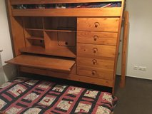 Bunk Bed with Tons of Storage (Must Go Today From Panzer Kaserne) in Stuttgart, GE