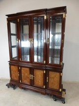 Asian Inspired China Cabinet in Pearland, Texas