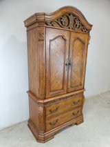 Traditional Arch Top Entertainment Armoire in Pearland, Texas