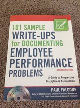 101 Sample Write-ups for Documenting Employee Performance  Problems in Westmont, Illinois