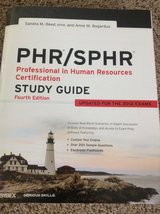 PHR/SPHR Study Guide in Aurora, Illinois