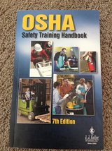 OSHA Safety Training Handbook in Chicago, Illinois