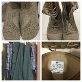 6 Military Bags and 1 pr of Boots. in Fort Knox, Kentucky